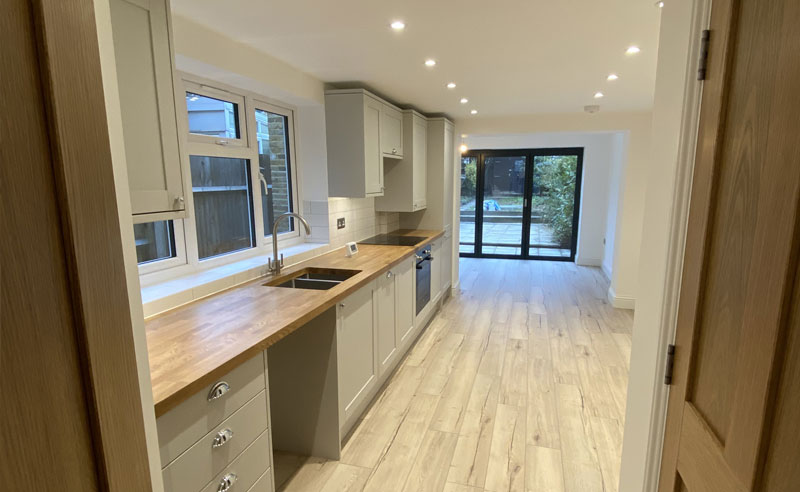 Chesterfield Grove, Kitchen, Coldrum Group